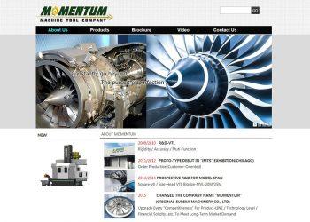 英文網站設計, 形象官網設計-RWD響應式網站